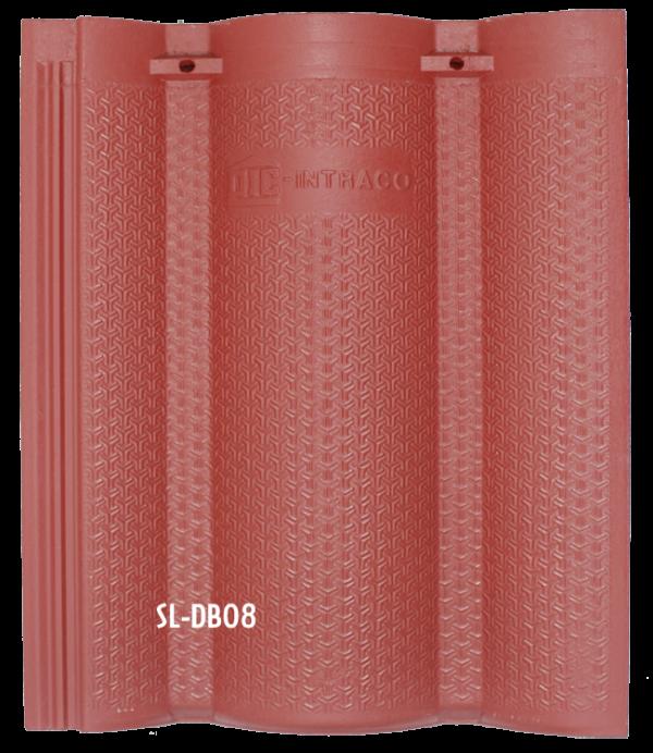 Ngói màu sóng lớn DB08