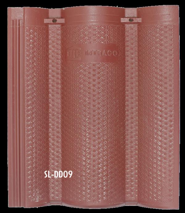 Ngói màu sóng lớn DD09
