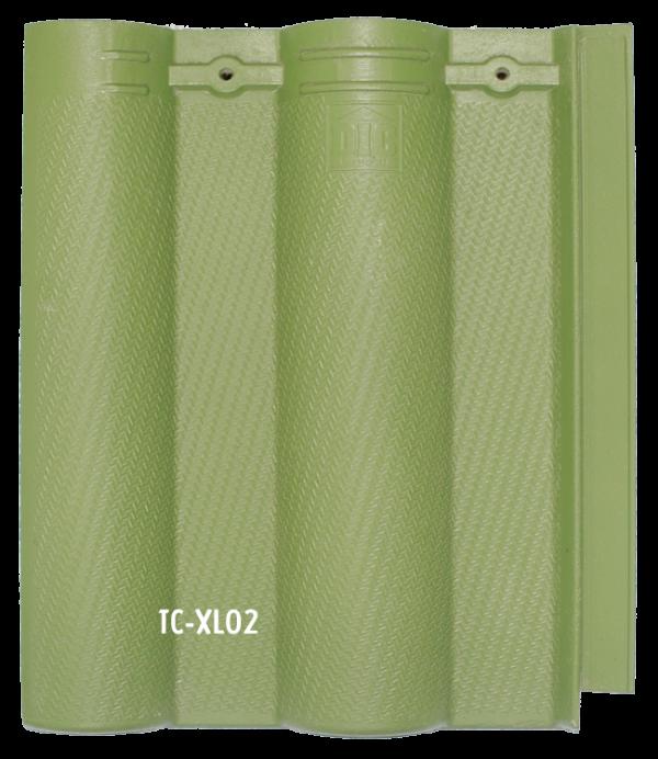 Ngói màu cao cấp sóng nhỏ tia chớp TC- XL02