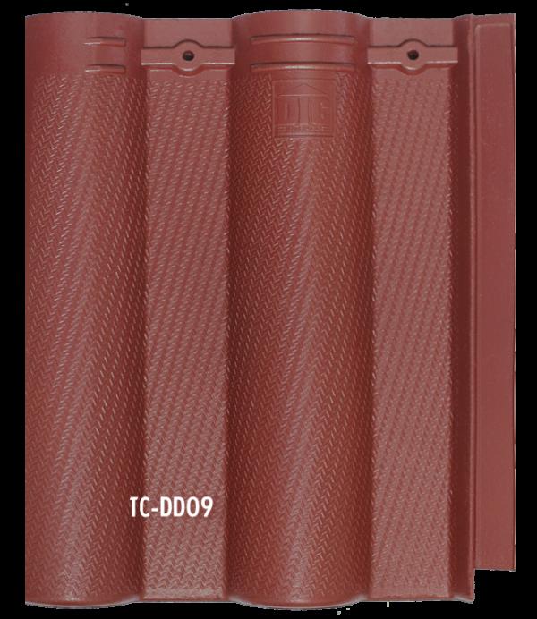 Ngói màu cao cấp sóng nhỏ tia chớp TC- DD09