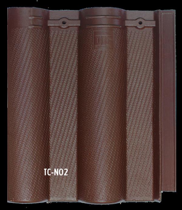 Ngói màu cao cấp sóng nhỏ tia chớp TC- N02