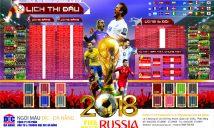 Lịch Bóng Đá Worldcup 2018