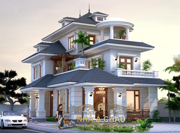 Những mẫu thiết kế mái nhà thông dụng